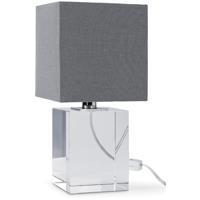 Regina Andrew 13-1124 Block 12 inch 60.00 watt Clear Mini Lamp Portable Light