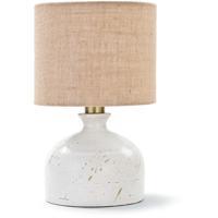 Regina Andrew 13-1195 Marselle 16 inch 60.00 watt White Table Lamp Portable Light