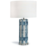 Regina Andrew 13-1207 Mali 28 inch 150.00 watt Indigo Table Lamp Portable Light
