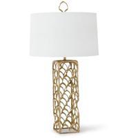 Regina Andrew 13-1220 Cabana 32 inch 150.00 watt Natural Brass Table Lamp Portable Light