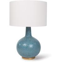 Regina Andrew 13-1226 Blue Moon II 27 inch 150.00 watt Blue Table Lamp Portable Light