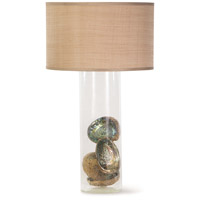 Regina Andrew 13-1241 Palmetto 35 inch 150.00 watt Clear Table Lamp Portable Light