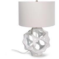Regina Andrew 13-1250WT Celestial 24 inch 150.00 watt White Table Lamp Portable Light