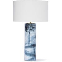 Regina Andrew 13-1264 Hudson 30 inch 150.00 watt Indigo Table Lamp Portable Light