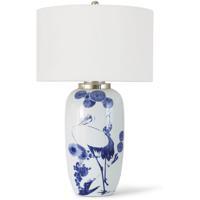 Regina Andrew 13-1281 Coastal Living Kyoto 30 inch 150.00 watt White Table Lamp Portable Light