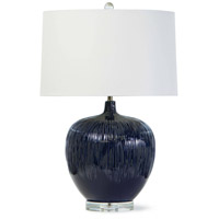 Regina Andrew 13-1306 Wisteria 26 inch 100.00 watt Blue Table Lamp Portable Light