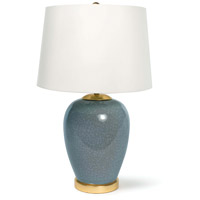 Regina Andrew 13-1334 Anne 24 inch 150.00 watt Blue Table Lamp Portable Light
