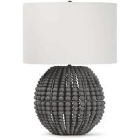 Regina Andrew 13-1349GRY Tropez 28 inch 150.00 watt Grey Table Lamp Portable Light