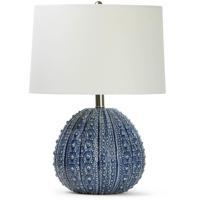 Regina Andrew 13-1354BL Coastal Living Sanibel 21 inch 150.00 watt Blue Table Lamp Portable Light