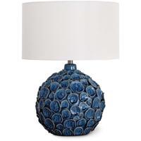 Regina Andrew 13-1366BL Lucia 26 inch Blue Table Lamp Portable Light