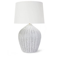 Light Rattan Table Lamps