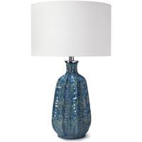 Regina Andrew 13-1423BL Antigua 27 inch 100.00 watt Blue Table Lamp Portable Light