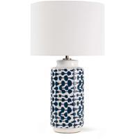 Regina Andrew 13-1457 Cailee 26 inch 150.00 watt Indigo Table Lamp Portable Light