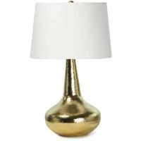 Regina Andrew 13-1464PB Taj 24 inch 100.00 watt Polished Brass Table Lamp Portable Light