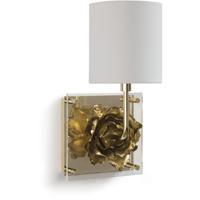 Regina Andrew 15-1098 Adeline 1 Light 8 inch Gold Wall Sconce Wall Light