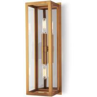 Regina Andrew 15-1130NB Ritz 2 Light 6 inch Natural Brass Sconce Wall Light