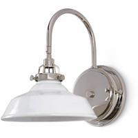 Regina Andrew 15-1132WT Coastal Living Maine 1 Light 9 inch White Sconce Wall Light