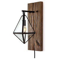 Regina Andrew 15-1134 Terra 1 Light 7 inch Distressed Painted Sconce Wall Light