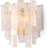 Regina Andrew 15-1137 Glacier 3 Light 14 inch Clear Sconce Wall Light