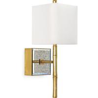 Regina Andrew 15-1142 Sarina 1 Light 6 inch Gold Leaf Sconce Wall Light