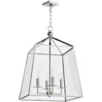 Regina Andrew 16-1010PN Coastal Living Cachet 4 Light 18 inch Polished Nickel Ceiling Lantern Ceiling Light