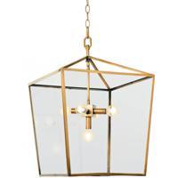 Regina Andrew 16-1039NB Camden 5 Light 16 inch Natural Brass Ceiling Lantern Ceiling Light
