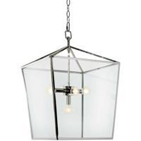 Regina Andrew 16-1039PN Camden 5 Light 16 inch Polished Nickel Ceiling Lantern Ceiling Light