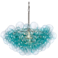 Regina Andrew 16-1044AQ Bubbles 1 Light 28 inch Aqua Chandelier Ceiling Light