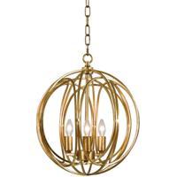 Regina Andrew 16-1095GL Ofelia 3 Light 14 inch Gold Leaf Pendant Ceiling Light Medium
