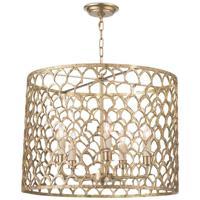 Regina Andrew 16-1131 Cabana 5 Light 23 inch Natural Brass Chandelier Ceiling Light
