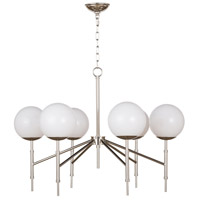 Regina Andrew 16-1139PN Bodie 6 Light 32 inch Polished Nickel Chandelier Ceiling Light photo thumbnail