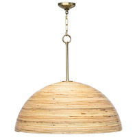 Regina Andrew 16-1146 Laguna 1 Light 30 inch Natural Pendant Ceiling Light