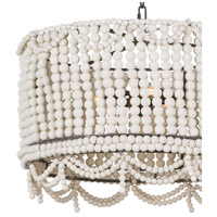 Regina Andrew 16-1147WT Malibu 3 Light 20 inch White Drum Pendant Ceiling Light alternative photo thumbnail