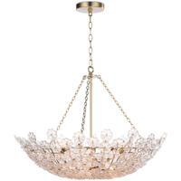 Regina Andrew 16-1177 Charlotte 12 Light 31 inch Natural Brass Chandelier Ceiling Light