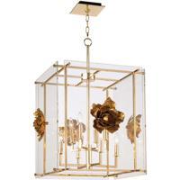 Regina Andrew 16-1181 Adeline 8 Light 25 inch Gold Ceiling Lantern Ceiling Light, Large