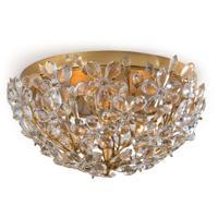 Regina Andrew 16-1183GL Cheshire 2 Light 14 inch Gold Leaf Flush Mount Ceiling Light