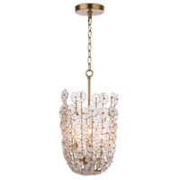 Regina Andrew 16-1185 Charlotte 6 Light 12 inch Natural Brass Pendant Ceiling Light