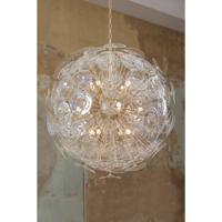 Regina Andrew 16-1188CLR Poppy 12 Light 32 inch Clear Chandelier Ceiling Light Large