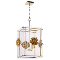 Regina Andrew 16-1211 Adeline 4 Light 19 inch Gold Ceiling Lantern Ceiling Light Small