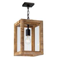 Regina Andrew 16-1275 Newport 1 Light 9 inch Natural Ceiling Lantern Ceiling Light Small
