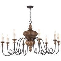 Regina Andrew 16-1287 Flanders 8 Light 45 inch Natural Chandelier Ceiling Light