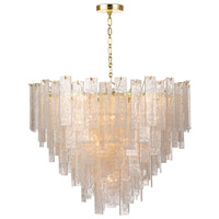 Regina Andrew 16-1290 Glacier 16 Light 31 inch Clear Chandelier Ceiling Light Large