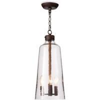 Regina Andrew 16-1297 Wythe 3 Light 9 inch Clear Pendant Ceiling Light