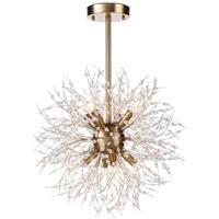 Regina Andrew 16-1340 Chiffon 8 Light 18 inch Natural Brass Chandelier Ceiling Light Small
