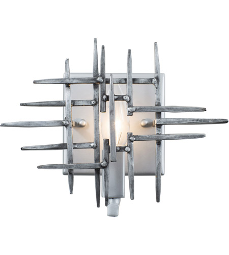 Havana Steel Spike Bathroom Vanity Lights