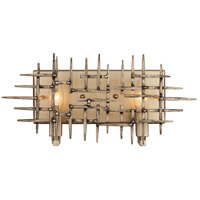 Rogue Decor Company 269B02HG Spike 2 Light 15 inch Havana Gold Bath Vanity Wall Light