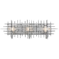 Rogue Decor Company 269B03HS Spike 3 Light 22 inch Havana Steel Bath Vanity Wall Light
