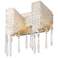 Rogue Decor Company 299B02GD Complex 2 Light 12 inch Gold Dust Bath Vanity Wall Light photo thumbnail
