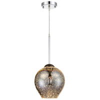 Rogue Decor Company 610210 Spacey 1 Light 9 inch Polished Chrome Mini Pendant Ceiling Light alternative photo thumbnail