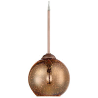 Rogue Decor Company 610240 Spacey 1 Light 7 inch Copper Mini Pendant Ceiling Light